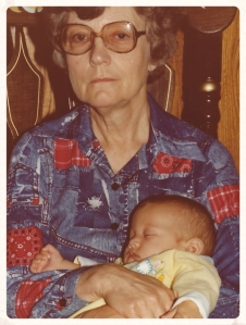 Granny and baby me